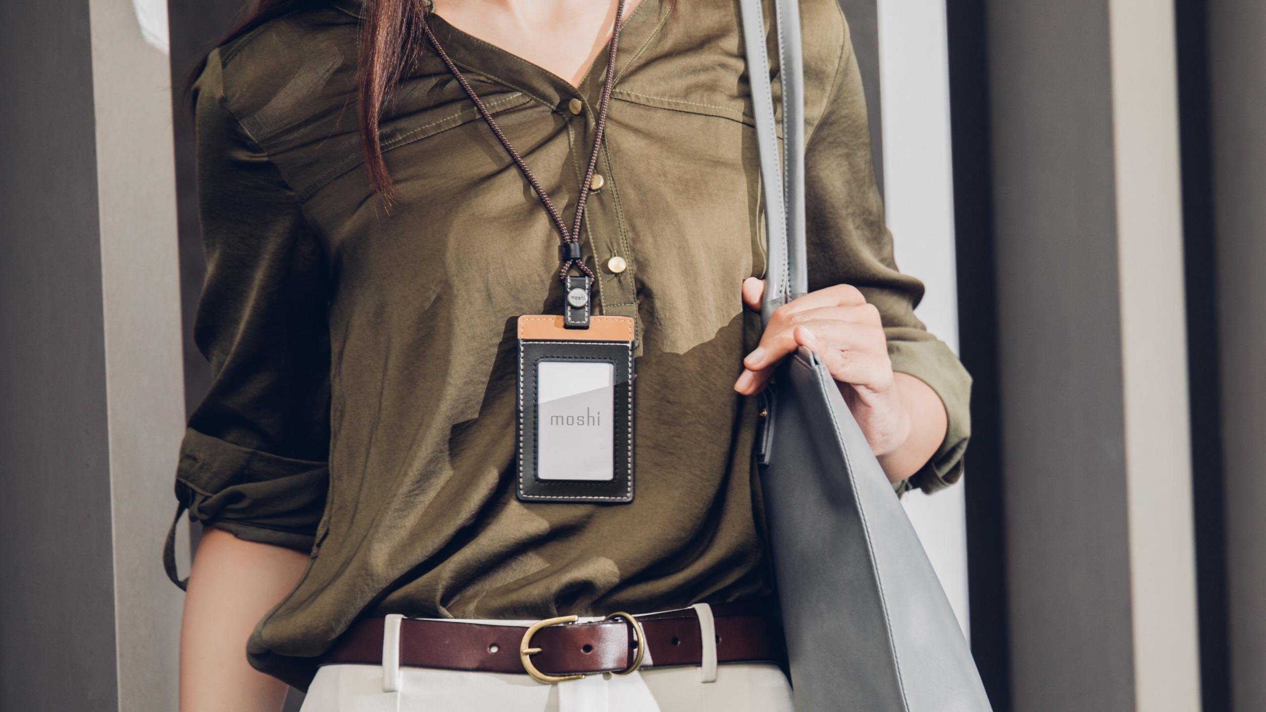 Vegan Leather Badge/ID Holder-image