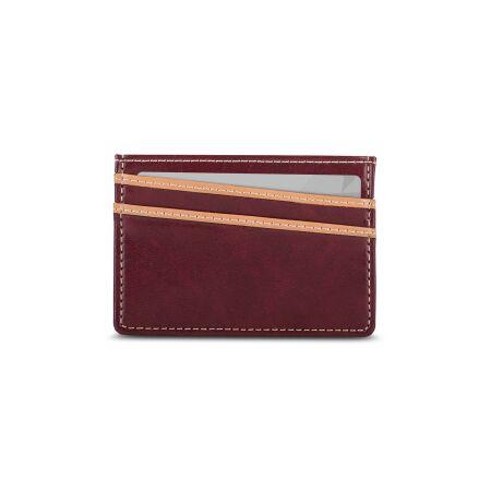 View larger image of: Lightweight Vegan Leather Slim Wallet-3-thumbnail
