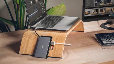 View larger image of: Symbus Mini 7-in-1 portable USB-C hub-5-thumbnail