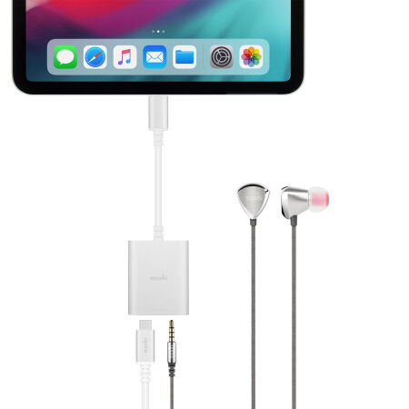 View larger image of: USB-C to 3.5 mm Digital Audio Adapter with Charging(Universal)-3-thumbnail