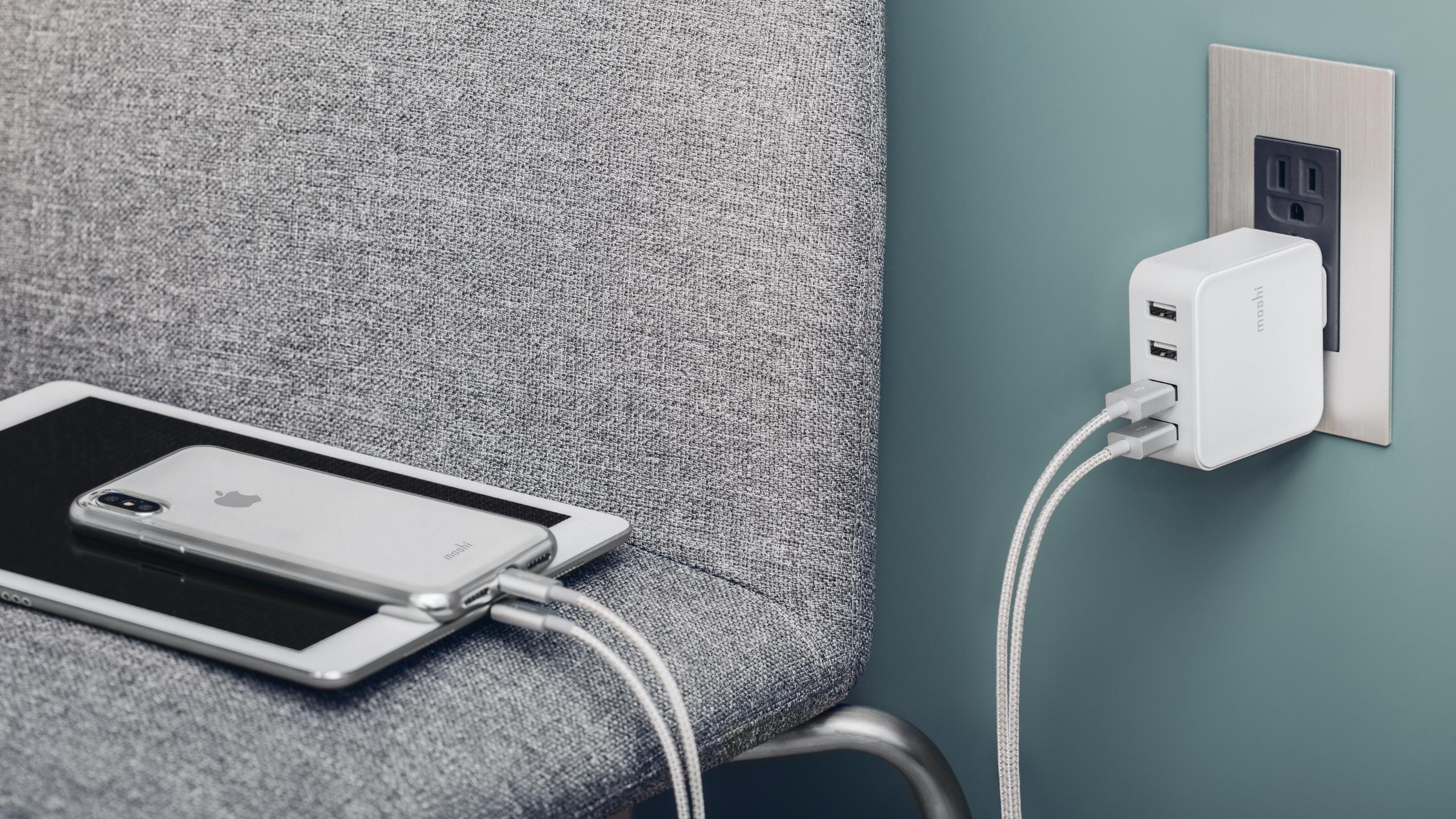 ProGeo 4-Port USB Travel Charger (35 W)-image