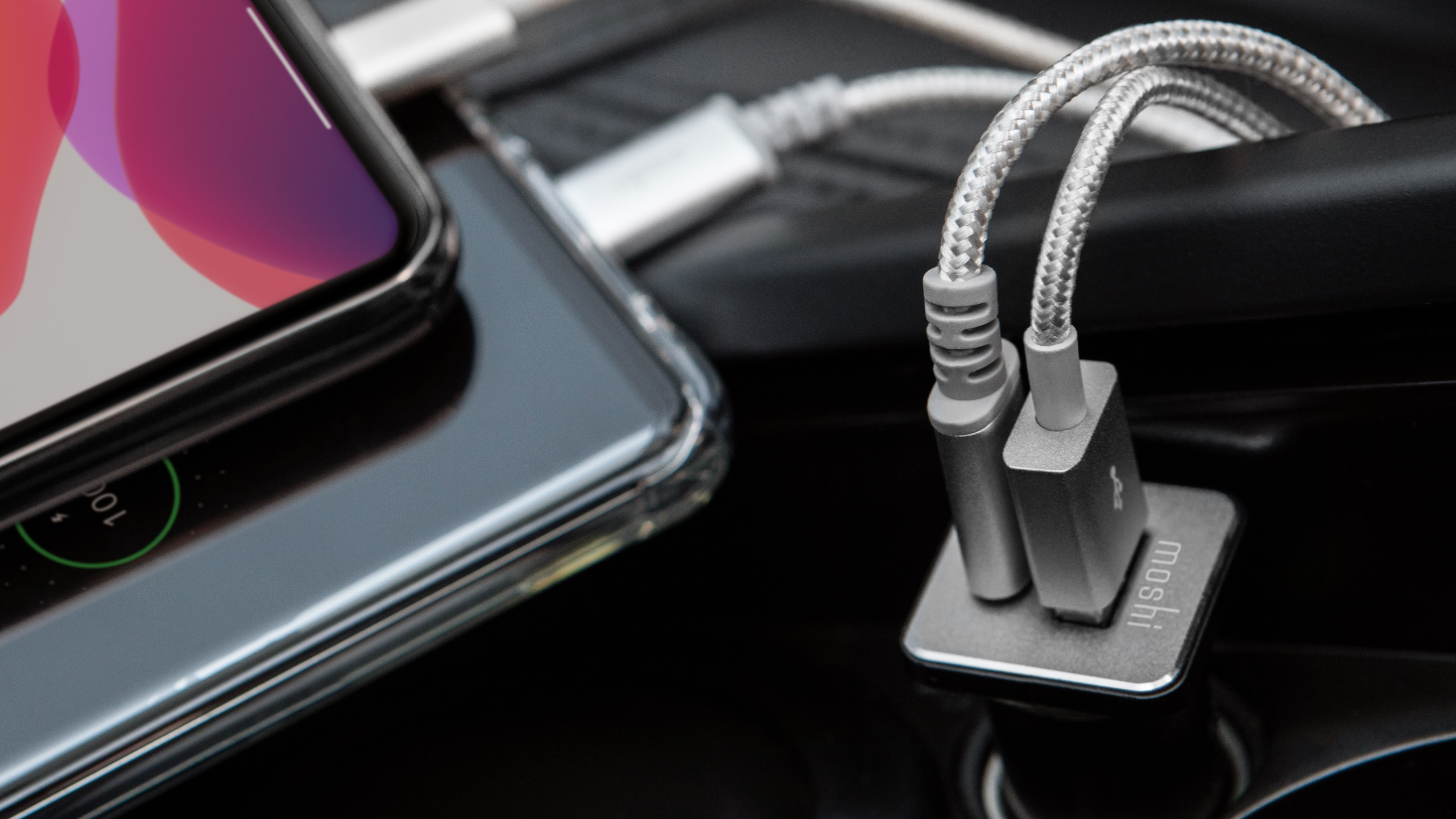 QuikDuo Car Charger with USB-C PD and Quick Charge-image