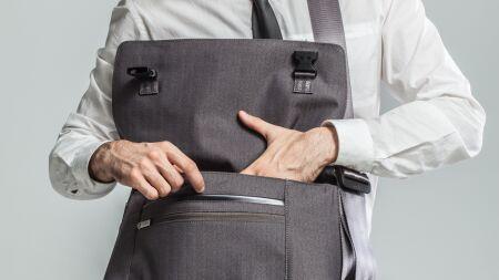View larger image of: Aerio Laptop Messenger Bag-6-thumbnail