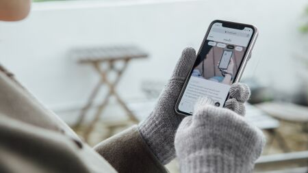 View larger image of: Digits Touchscreen Gloves-4-thumbnail