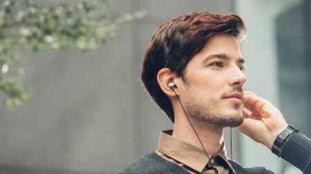 View larger image of: Mythro C USB Type-C Earbuds with Mic-2-thumbnail
