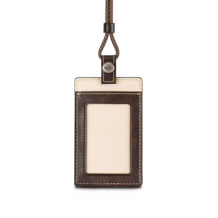 View larger image of: Vegan Leather Badge/ID Holder-2-thumbnail